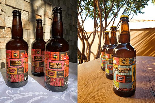 Bem-te-Brew, Craft Beer Visual identity and Packaging