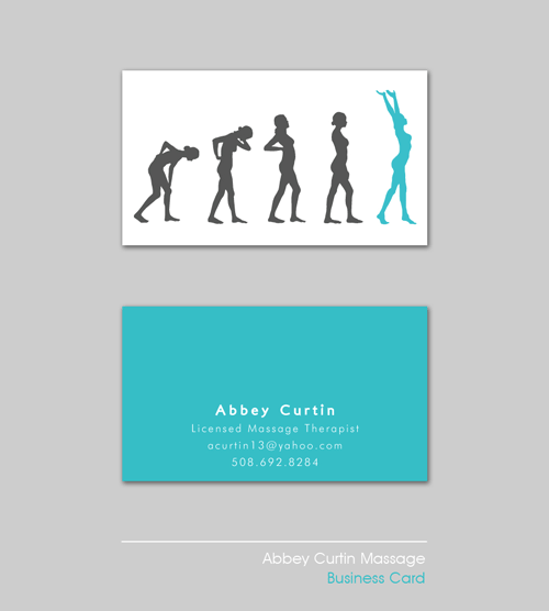 Massage Therapist Business Card on Behance