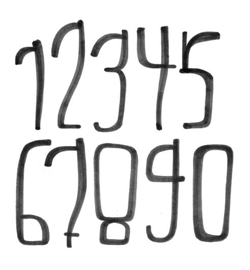 handdrawn typography on behance