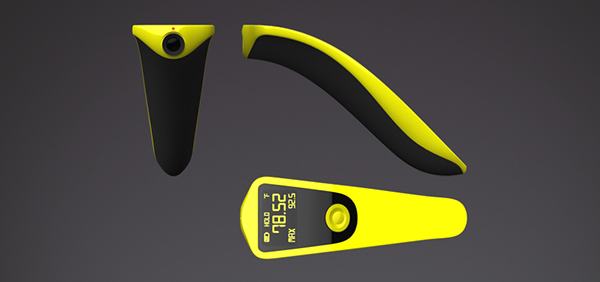 infrared thermometer tool Thermo yellow