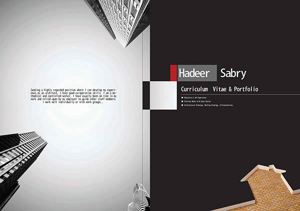 Hadeer Sabry Architects Portfolio On Behance