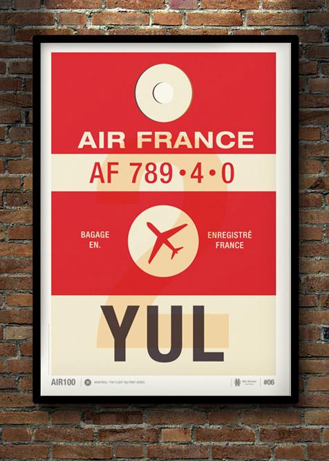 Flight Tag Prints