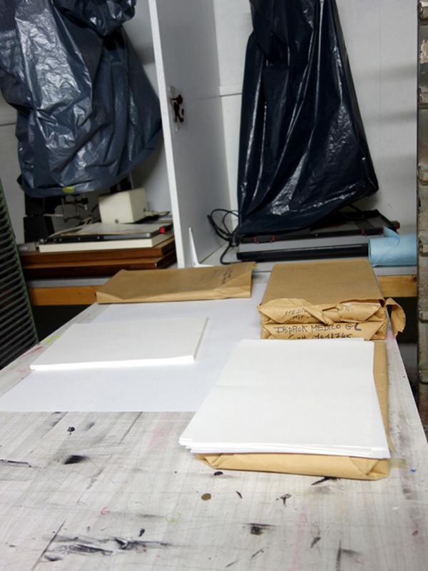 atelier octobre loren capelli Riso risograph microedition DIY