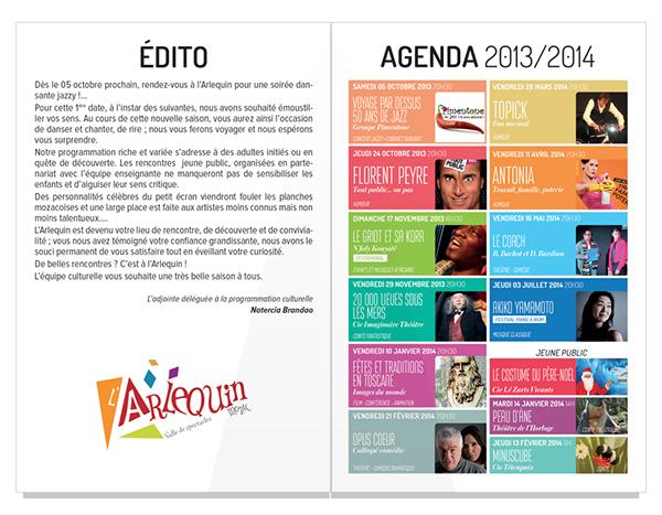 brochure Saison Culturelle