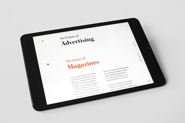 Discerning Design - Magazine cover
