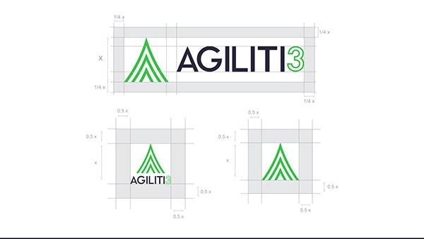 Agiliti3 - Logo Design and Brand Identity