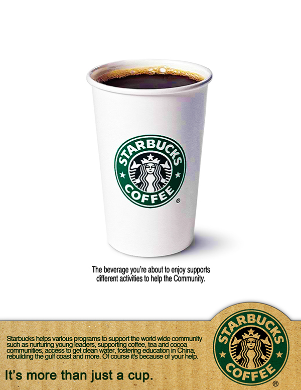 Advertising Campaign Idea for Starbucks on Behance