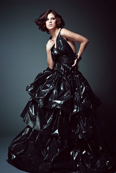 This Trash Bag Dress Diy Is Going Viral The Final Seriously Impressive