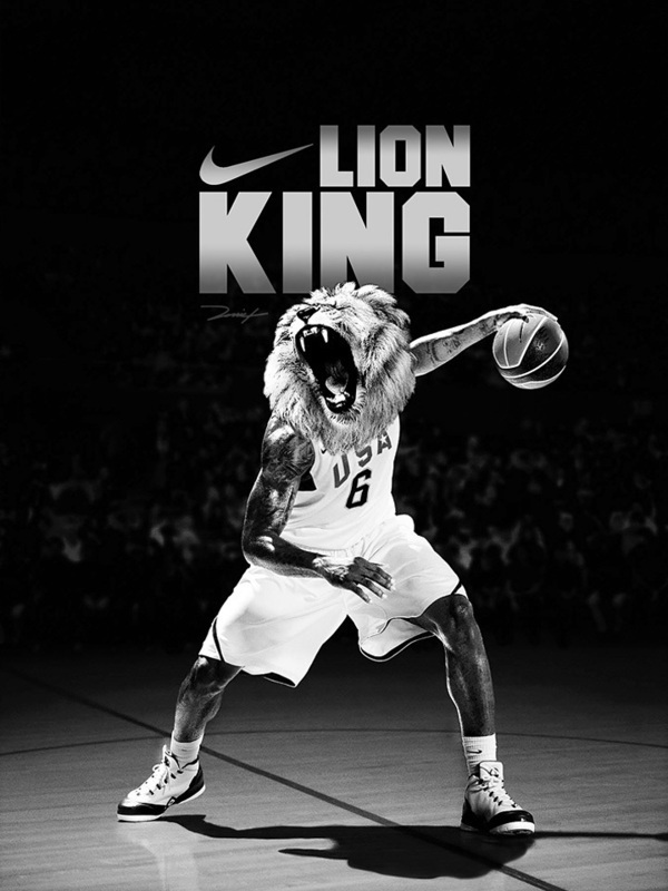 lion king nike concept ad on behance