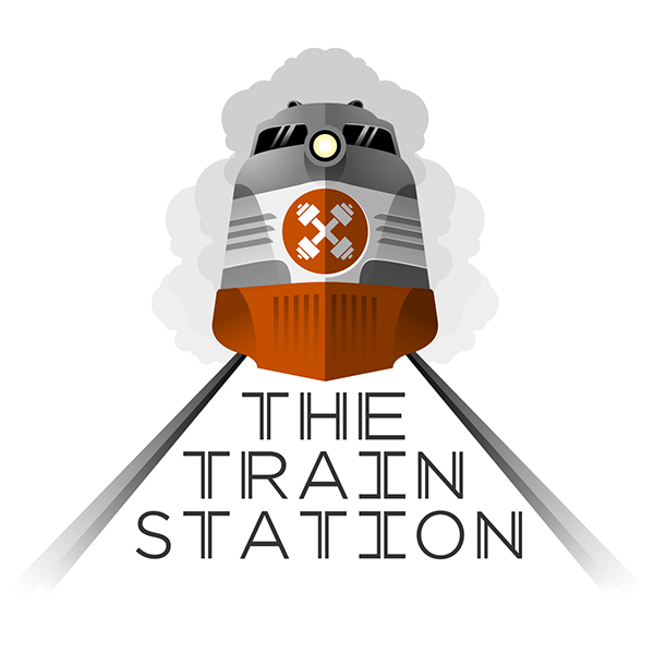 the train station logo on behance