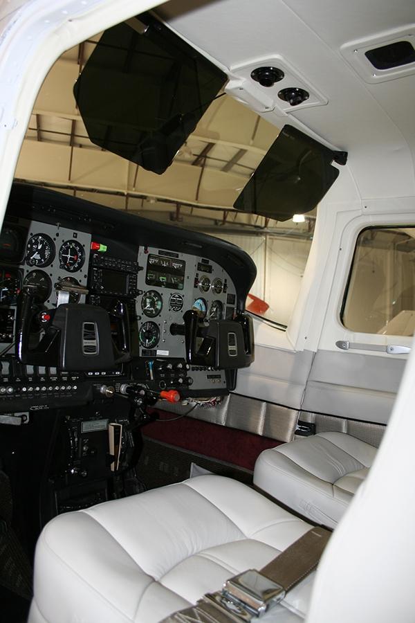 Cessna 210 Aircraft Interior Redesign On Behance