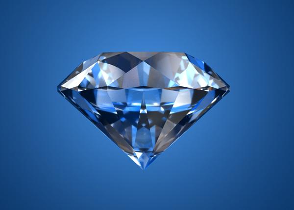 Blue Diamond Animation On Behance
