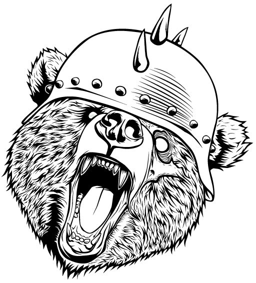 Zombie Bear On Behance
