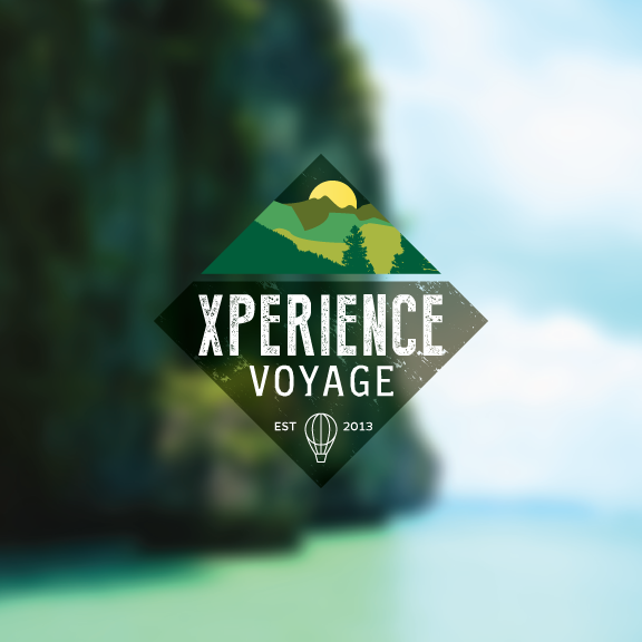 xperience voyage  small travel agency on behance