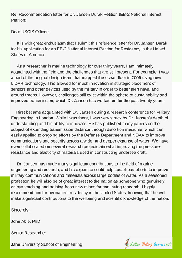 Reference letter for green card eb2 example on pantone canvas gallery reference letter for green card eb2 example expocarfo Choice Image