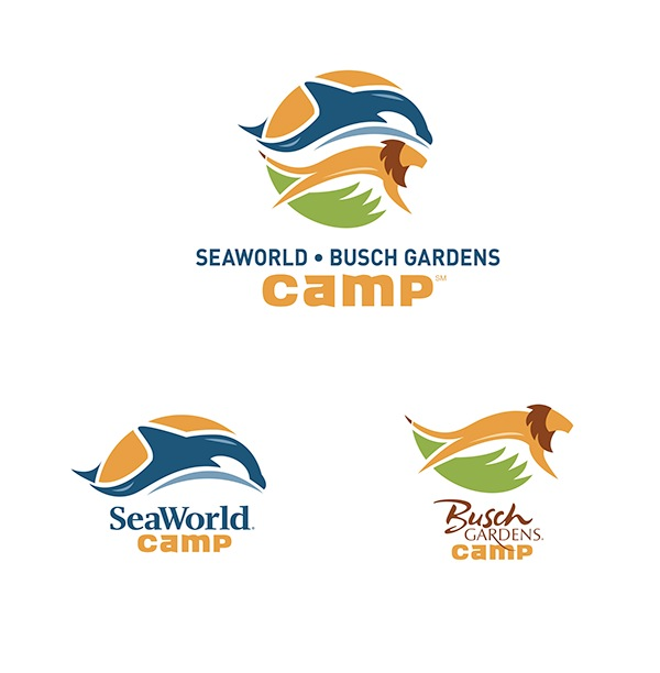 Busch Gardens Seaworld Camp Rebrand On Behance