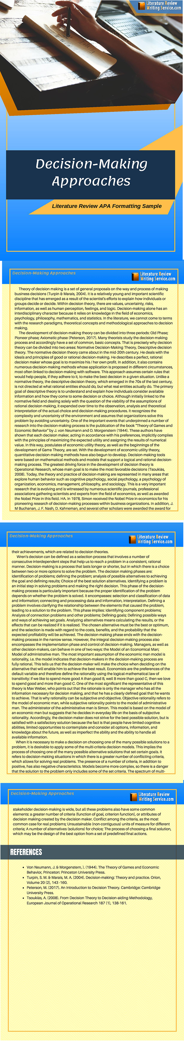 Literature Review Sample Apa 6th Edition On Pantone Canvas Gallery