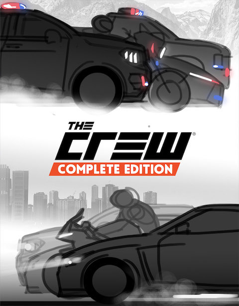 the crew Calling All Units ultimate edition Cars car cops police ubisoft Pack video game