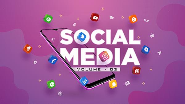 Social Media Post Design - Volume 03 Rahul Visuals