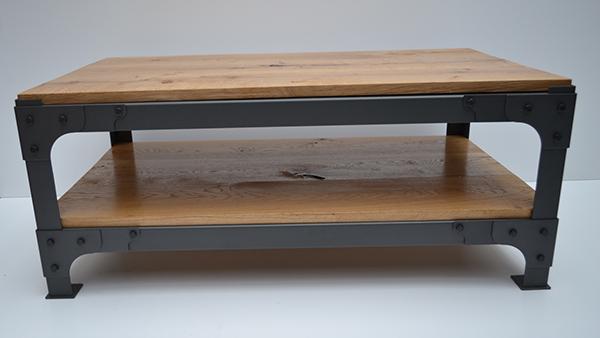 industrial furniture coffee table