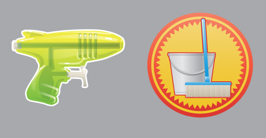 space ship app game Icon concept art digital painting vector art TMNT