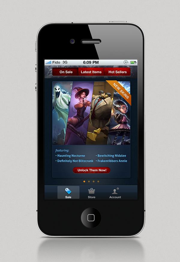 League of legends ios app
