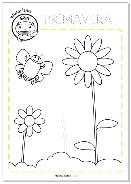 Number Names Worksheets spring worksheets for preschoolers : Printable Educational Worksheets Preschool & Elemetary on Behance
