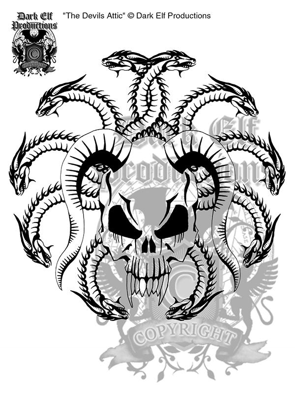 The Devils Attic Logo Amp Branding On Behance