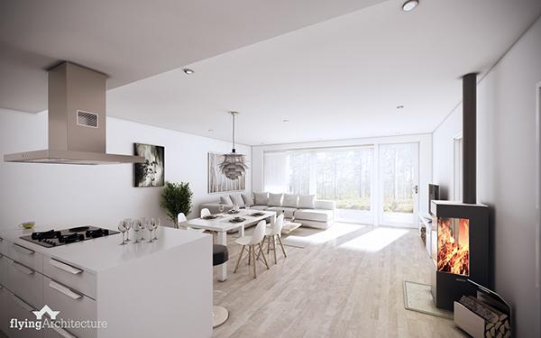 Finland housing - Interiors on Behance
