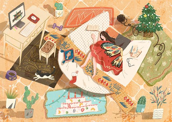 有創意感的12張聖誕節圖檔欣賞