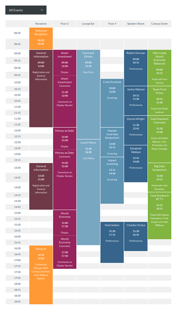 timetable responsive schedule for wordpress on behance