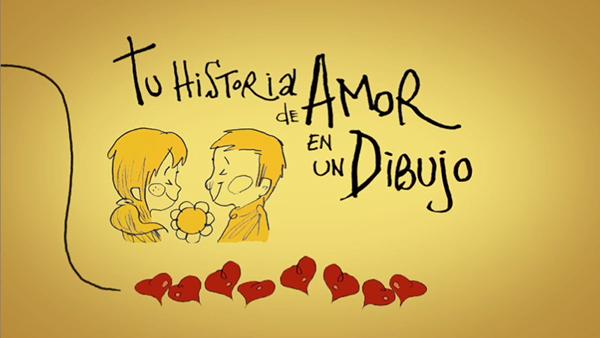 Palabras De Amor Con Dibujos De Amor: Tu Historia De Amor En Un Dibujo On Behance