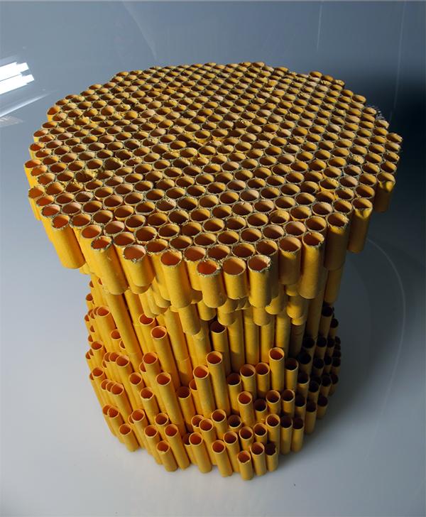 Recycled Material Furniture Studies On RISD Portfolios