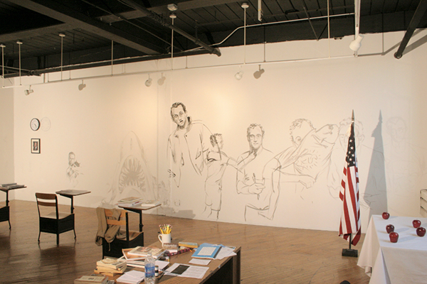 installation gallery performance art gay art Gay Studies gender identity portrait