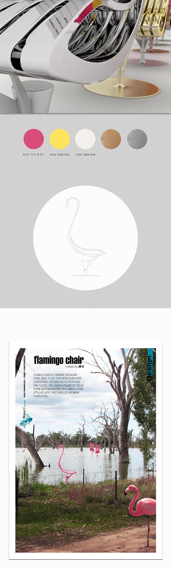 FLAMINGO | Chair on Behance