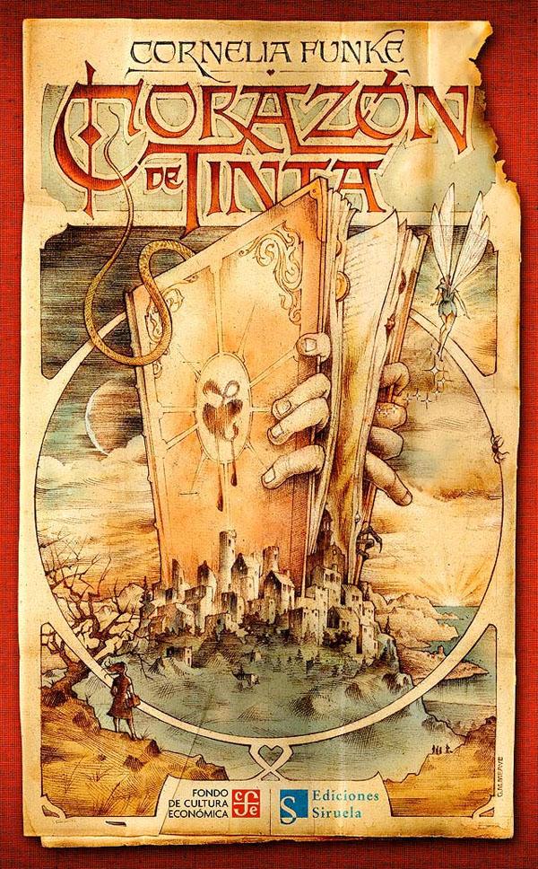 Cornelia Funke book cover Tintenherz Ink trilogy