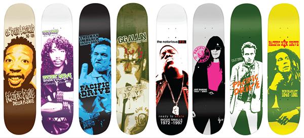220  Stunning Creative Skateboard Graphics