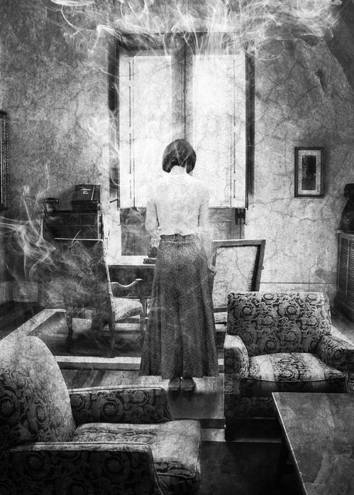 Alternate Reality house Memory mystery room woman