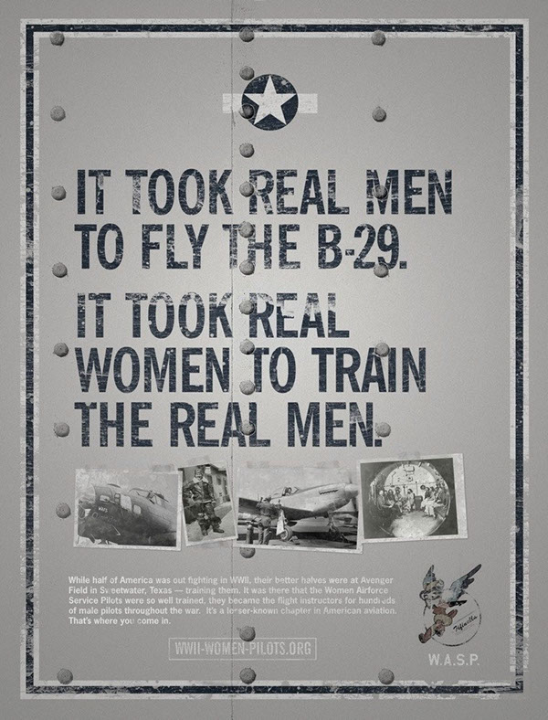 Campaign Commemorating America's WASP Pilots on Behance