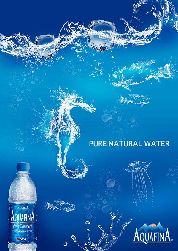 Aquafina Bottled Water On Behance
