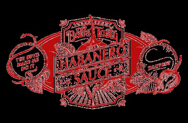 Bob S Tasty Habanero Sauce And Jelly On Behance