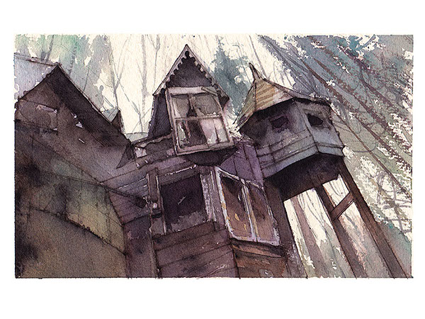 Beautiful Watercolor Paintings
