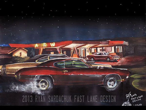 The Life Story Of A 1970 Chevy Chevelle Ss On Behance
