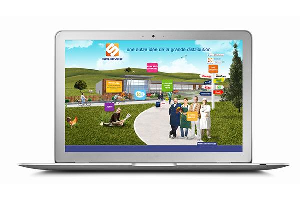 recutement recruitment Webdesign campagne photomontage