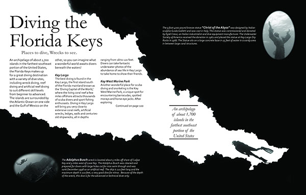 Magazine layout b w on behance for Article layout ideas