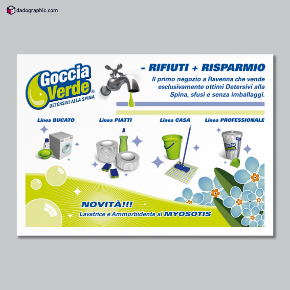 Goccia verde detersivi alla spina 2009 2010 on behance - Detersivi you ...