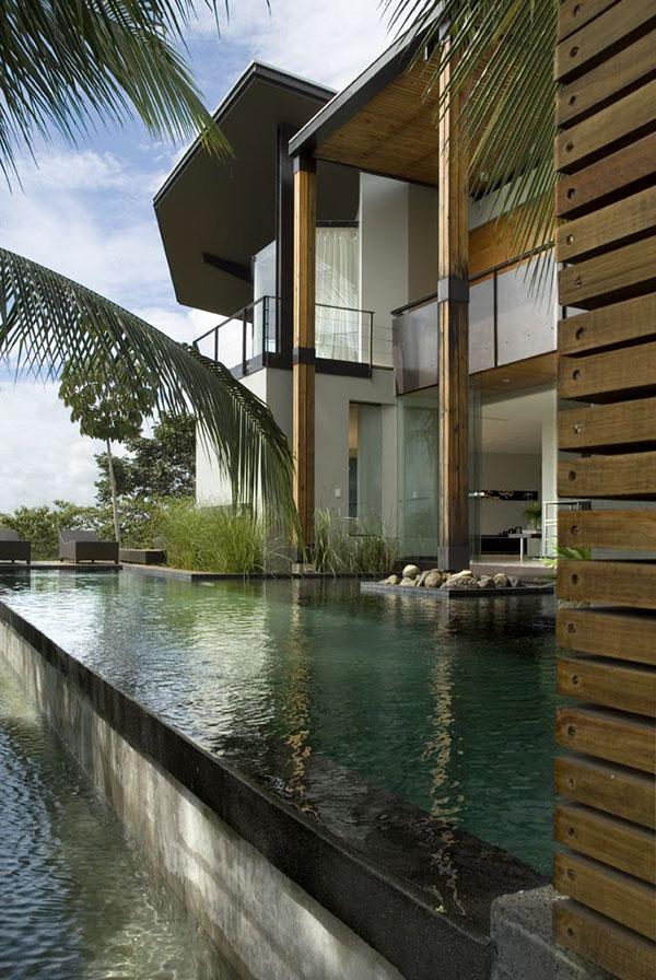 minimalist Costa Rica contemporary Beach house