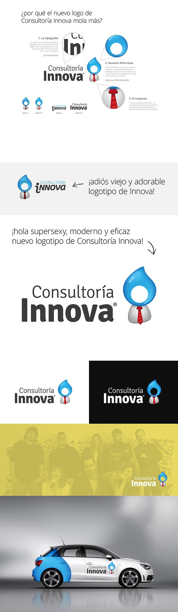 consultoria innova dumaker albacete Diseño web ilustracion motion niño gota Rediseño marca