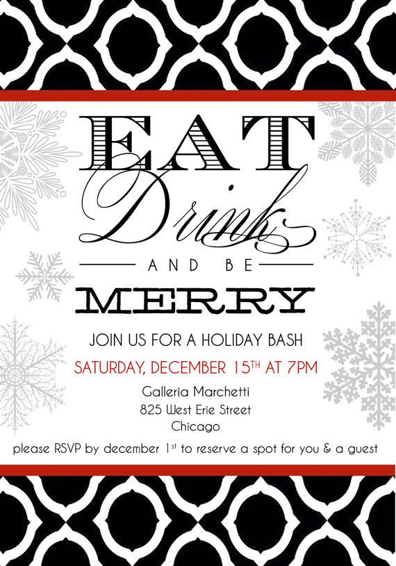 Company Holiday Party Invitation On Behance