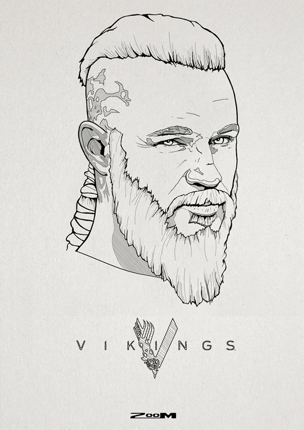 Ragnar Lodbrok 2 On Behance